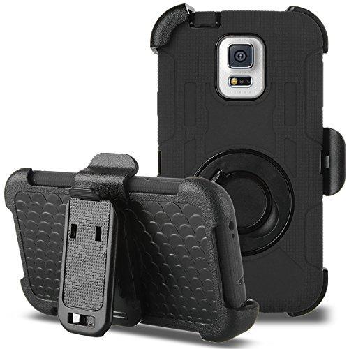 Ulak Mobile Case For Galaxy S5 (Black)
