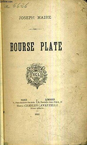 BOURSE PLATE. par MAIRE JOSEPH