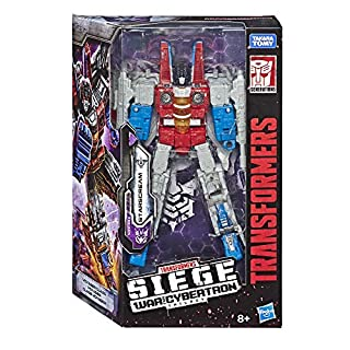Transformers Generations War for Cybertron Voyager WFC-S24 Starscream Action Figure