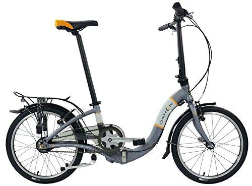 Dahon Ciao i7 Vélo Pliable Mixte Adulte, Moon Gris, Taille 20