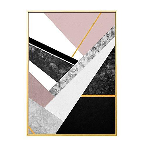bdrsjdsb Nordische geometrische Marmor Malerei dekorative Bild Home Wall Art Decor Poster Geschenk 30 cm x 40 cm -