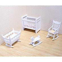 Melissa & Doug - Juego para la habitación del bebé, para casa de muñecas (12585)