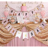 Happium - Happy Birthday Pattern Bunting Banner