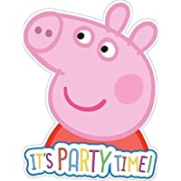 Amazon peppa pig invitations party supplies toys games brand new design peppa pig invites stopboris Image collections