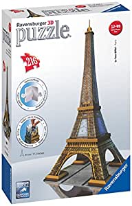Ravensburger Eiffel Tower, 216pc 3D Jigsaw Puzzle®