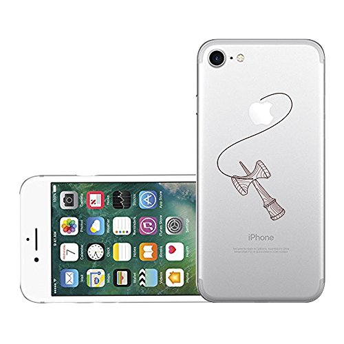 Qissy®TPU Case für iPhone 7 Silikon-Hülle Soft Shell-Fall-Schutz Anti Shock Silikon Anti-Staub-beständig Leichtes Ende mit Glänzende Einzigartiges Persönlichkeitsdesign (iPhone 7 4,7 Zoll, 5) 7