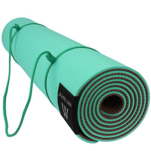 goture-non-slip-tpe-yoga-mat-with-strap-sports-outdoor-exercise-gym-mat