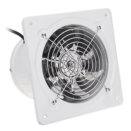 ChaRLes 6 Zoll 40W Inline Duct Booster Fan Extractor Exhaust Und Intake Vent Fan