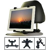 Ejut TH-S015-1 Auto Kopfstütze Tablet Halterung mit 360 Grad-Drehung für Apple iPad mini Air 2 3 4