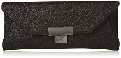 Guess Damen Haute Romance Clutch Handtaschenhalter, Schwarz (Onyx), One Size