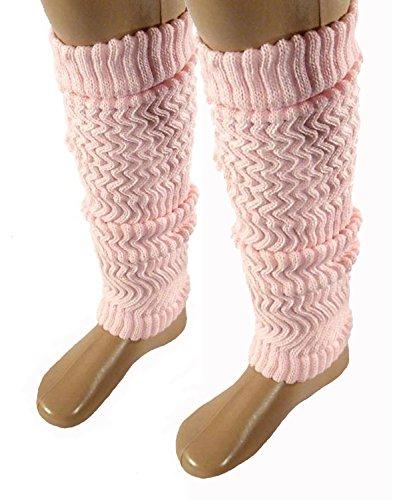 Baby/ Kinder Stulpen Legwarmer 40cm rosa, Farbe:rosa;Größe:one size