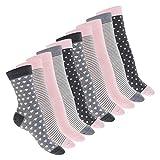 Celodoro 10 Paar süße Damen Socken - Pastell Mix 39-42