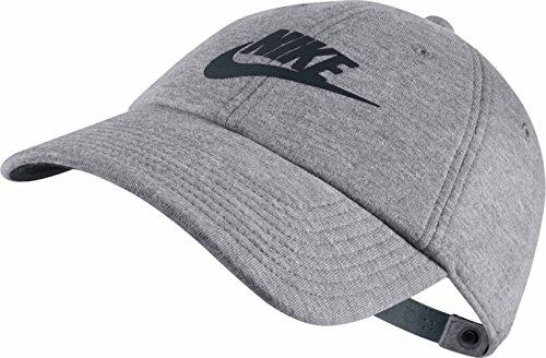 Gorras Nike (Nike W NSW H86Cap Tennis Cap Heritage86, Damen Einheitsgröße Grau (carbon heather / black / black))