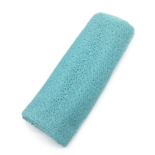 Baby Mädchen Hohle Wraps Decke Posing Swaddle Cover Fotografie Prop Handtuch (Blau) ()
