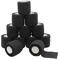 fuluning, 12Stück, 5,1cm X 5Meter Tapeverband, selbsthaftend Tape, stark Sport Tape für Handgelenk, Knöchel... preisvergleich bei billige-tabletten.eu