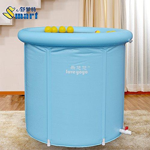FACAI888 Infant Swimming aufblasbare Badewanne Barrel Faltung aufblasbaren Whirlpool Wanne verdickt in adult Bad Lauf