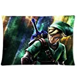 Best Perfect Fit Oreillers - Legend Of Zelda Pillowcase Pillow Case Cover Standard Review