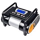 Q&F Auto-Luftpumpe Elektrischer Kompressor Luftpumpe,Preset-digitale Reifendruck Luftpumpe 12v Dc Reifen-inflator Für Autos Fahrräder Motorräder