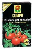 Compo, Concime per Pomodori con Guano, Ottimo Anche per Le Colture orticole Come cetrioli, zucchine, zucche, meloni, peperoni, melanzane, finocchi e Piante aromatiche, 1 kg, 4.7x14.2x22 cm