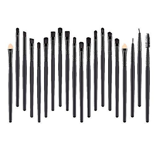 Daysing Make Up Pinsel Set 20 Stücke professionelles Kosmetikpinsel Pinselset Schminkpinsel lidschattenpinsel augen und wangen pinsel beauty tools