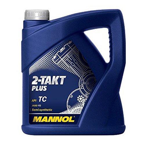 Preisvergleich Produktbild MANNOL Motorenöl 2-Takt Plus API TC, 4 Liter