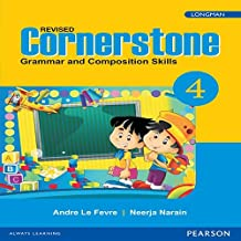 Cornerstone 4 : English Grammar & Composition Book by Pearson for CBSE Class 4