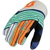 DH Fahrrad Handschuhe türkis blau//orange 2019 Scott 450 Track MX Motocross