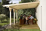weka Holzbau GmbH weka Terrassenüberdachung 672 Gr.1