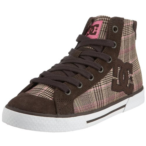 DC Skateboard Shoes WOMENS CHELSEA MID PLAID Size 5 (Lakai Womens Schuhe)