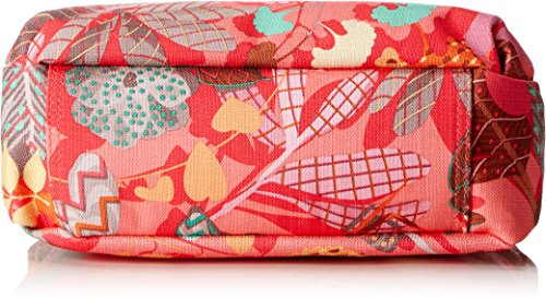 Oilily Damen S Shoulder Bag Umhängetasche, 9x19x26 cm Pink (Pink flamingo)