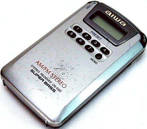 Aiwa CR-D 90 digitales Radio Tragbarer Kassettenspieler (Radio Aiwa)