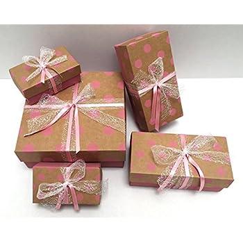 Boite Cadeau Cadeau Carton Cadeau Boîtes 3er Set Noël