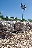Muschelkalk Mauersteine maschinengespalten, 8-15/15-25/30-50 cm, 500 Kg im Big Bag