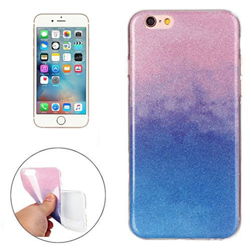 Phone case & Hülle Für iPhone 6 / 6s, IMD Color Fades Glitter Powder TPU Schutzhülle ( SKU : IP6G8686M ) IP6G8686L