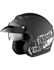 X-Helm HX 87 STREET schwarz-weiss matt, Farbe:schwarz-weiss matt;Größe:XS