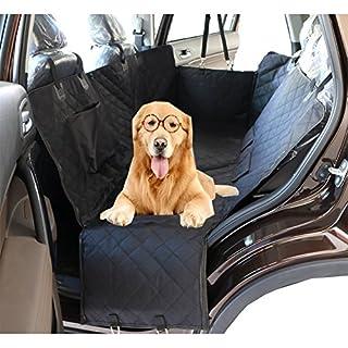 Anfayejia Haustier-Autositzbezug mit Sicherheitsgurt, wasserdicht und rutschfest