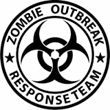 Best Bumper Stickers - Zombie Response Team Biohazard Graffiti Funny Symbol Funny Review