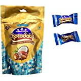 Arabian Delights Milk Coconut Chocolate With Almond, 100g