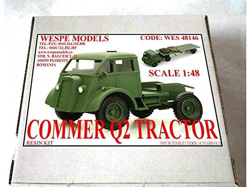 WES 48146 1:48 COMMER Q2 TRACTOR -Resin Kit Wespe Models