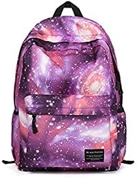 Joyousac Water-Resistant Backpack Movement For Junior High School (Purple)