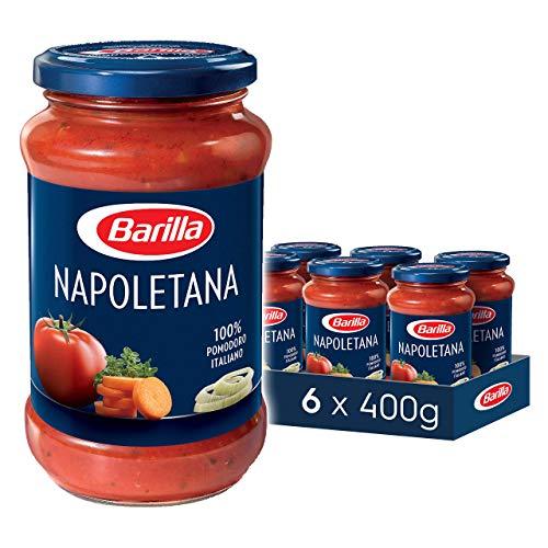 Barilla Pastasauce Napoletana - Italienische Sauce 6er Pack (6x400g)