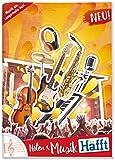 Musik-Häfft Notenheft A4 hoch - immer im Takt mit dem cleversten Musikheft weit und breit!