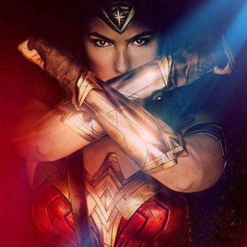 Womens Kostüm Krieger - Beautyrain Wonder Woman Stirnband Gladiator Kostüm griechischen Krieger Kostüm Superhero ihre Halloween Cosplay Performance Requisiten