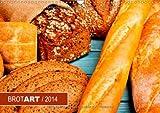 """BROTART/2014 (Wandkalender 2014 DIN A3 quer): Der Kalender """"BROTART/2014"""" präsentiert 12 stimmungsvolle Stillleben des ursprünglichen Nahrungsmittels. (Monatskalender, 14 Seiten)"""