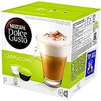 NESCAFÉ DOLCE GUSTO CAPPUCCINO Cappuccino 16 capsule (8 (1 Tazza Di Caffè In Cialde)