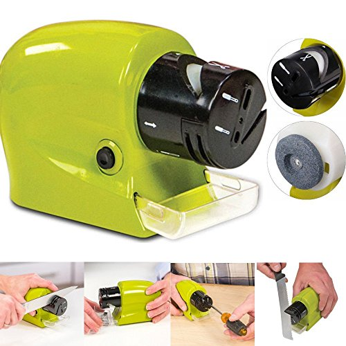Affila coltelli elettrico a batterie forbici cacciavite lame lama affilatore arrota utensili da cucina