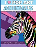 I Heart Pop Art Animals: A Color-By-Number Coloring Book (I Heart Pop Art Coloring Books)