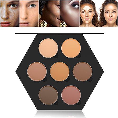 7 couleurs Palette de Maquillage Correcteur Camouflage Crème Cosmétique Set