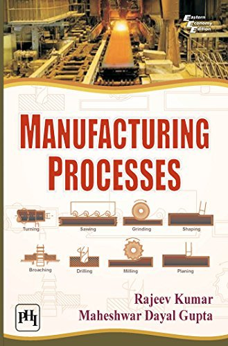 Manufacturing Processes by Rajeev Kumar (2014-08-30)