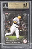 MLB Gary Sanchez New York Yankees 2016 Topps Now Rookie Card #341 Bgs 9.5
